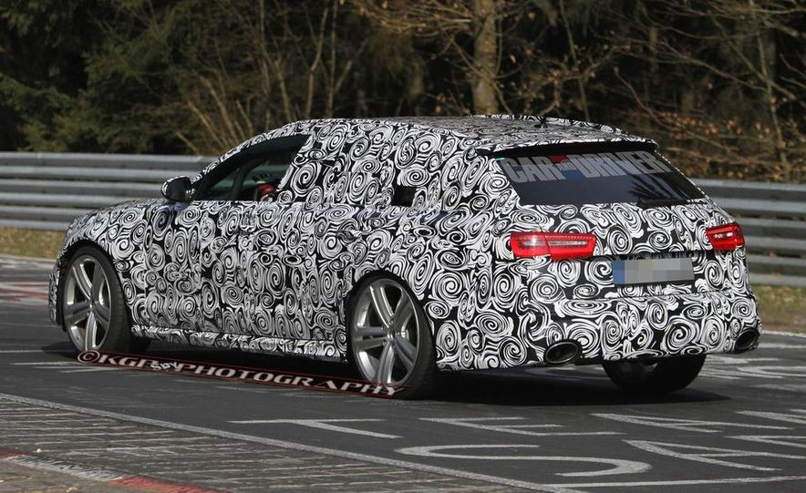 2014 Audi RS6 Avant (spy photo) - Slide 6