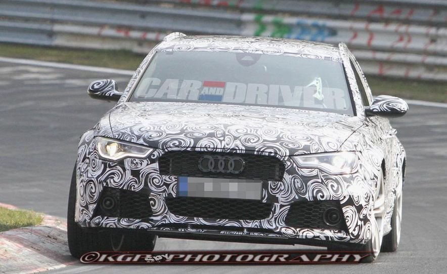 2014 Audi RS6 Avant (spy photo) - Slide 8