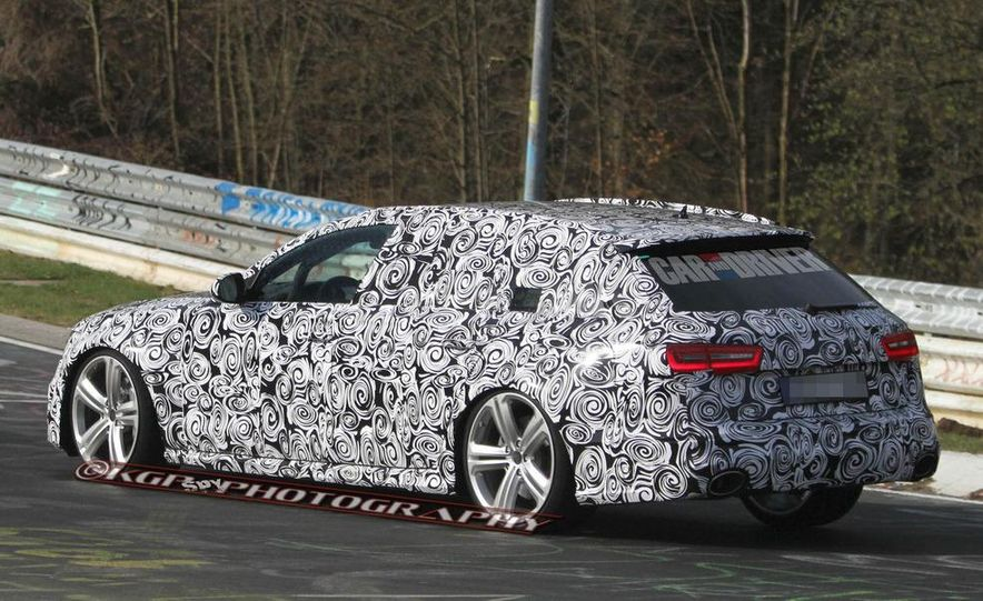 2014 Audi RS6 Avant (spy photo) - Slide 9