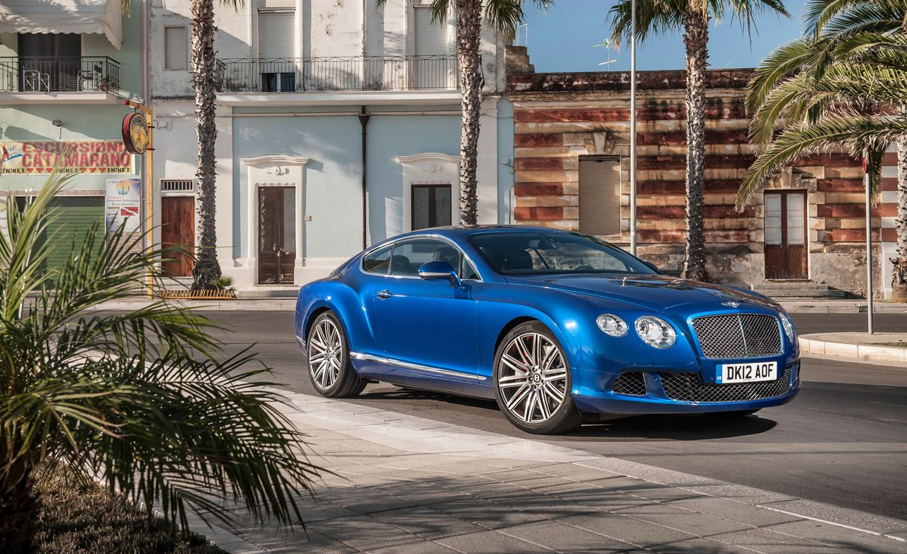 2013 Bentley Continental Gt Speed First Drive Review Car And Driver