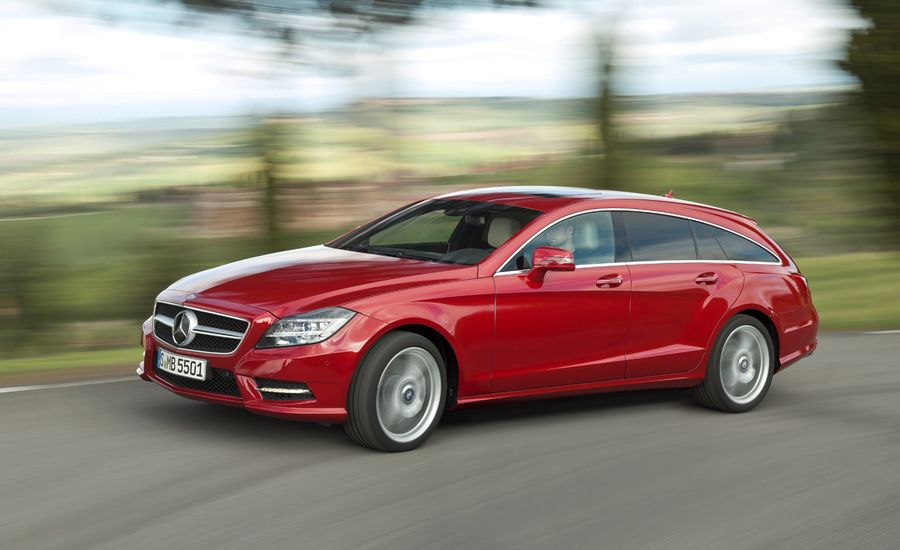 2013 mercedes benz cls shooting brake photos and info for Mercedes benz cls station wagon