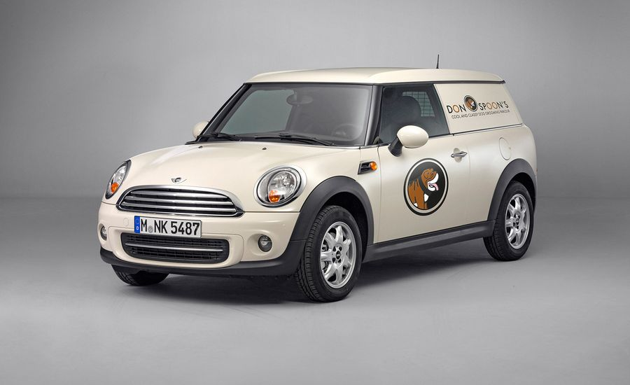 2013 Mini Clubvan Official Photos And Info News Car And Driver