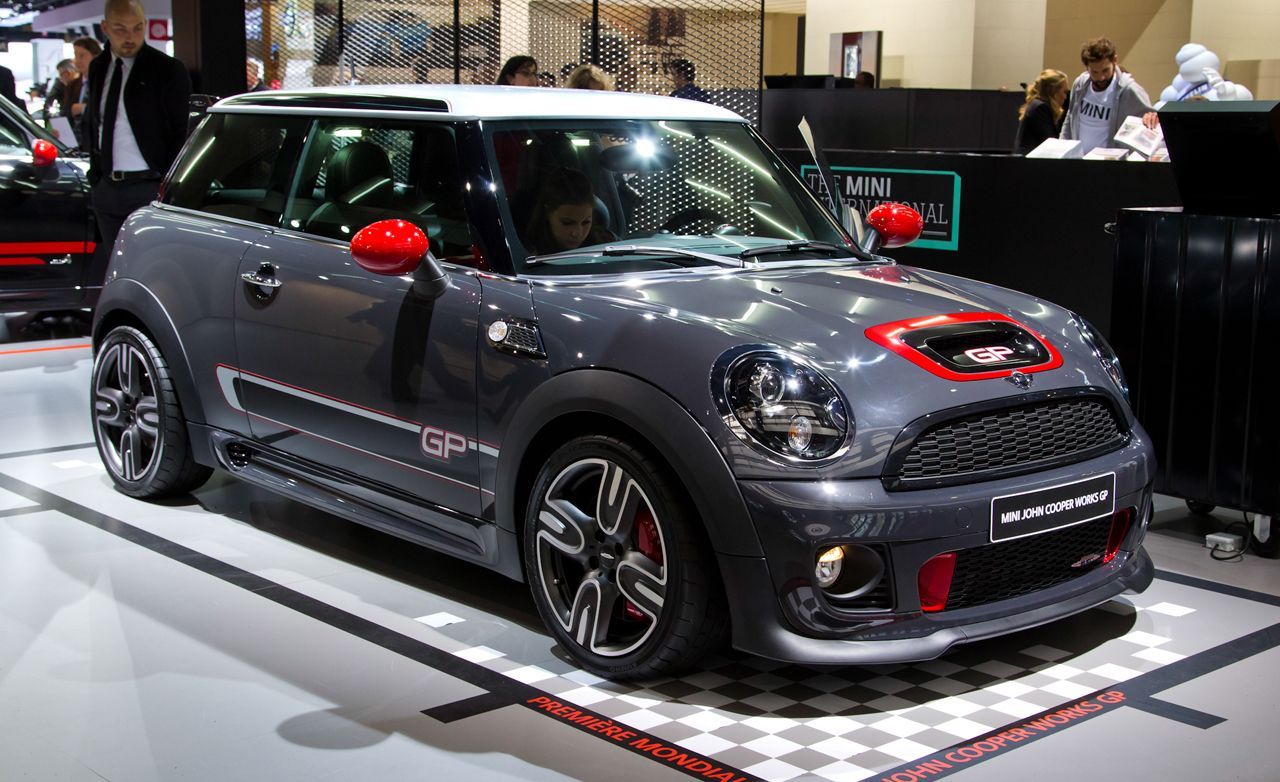2013 mini john cooper works gp hatchback photos and info news car and driver. Black Bedroom Furniture Sets. Home Design Ideas