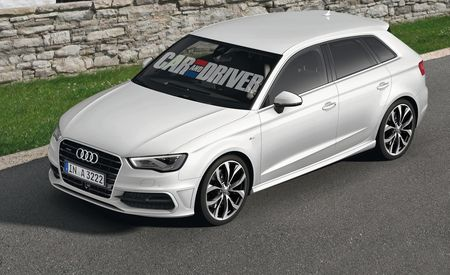 2014 Audi A3 Sportback Five-Door Rendered