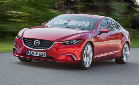 2014 Mazda 6 Sedan Rendered, Detailed