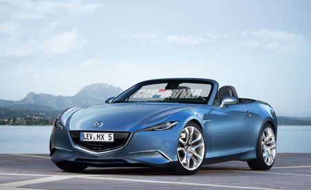 2014 Mazda MX-5 Miata Rendered, Detailed