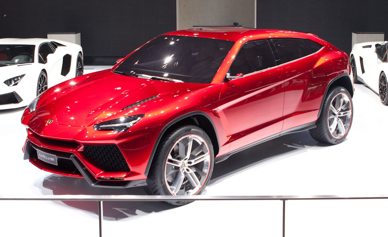 Lamborghini Urus Concept Auto Shows Car And Driver