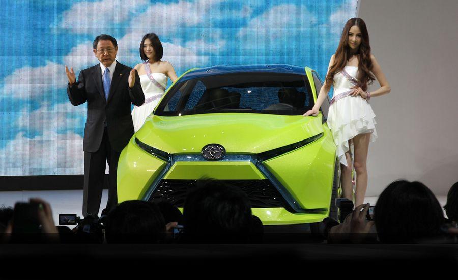 Toyota Dear Qin Sedan and Hatchback Concepts