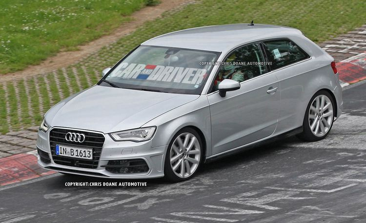 2013 Audi S3 Spy Photos