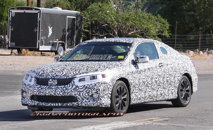 2013 Honda Accord Sedan and Coupe Spy Photos