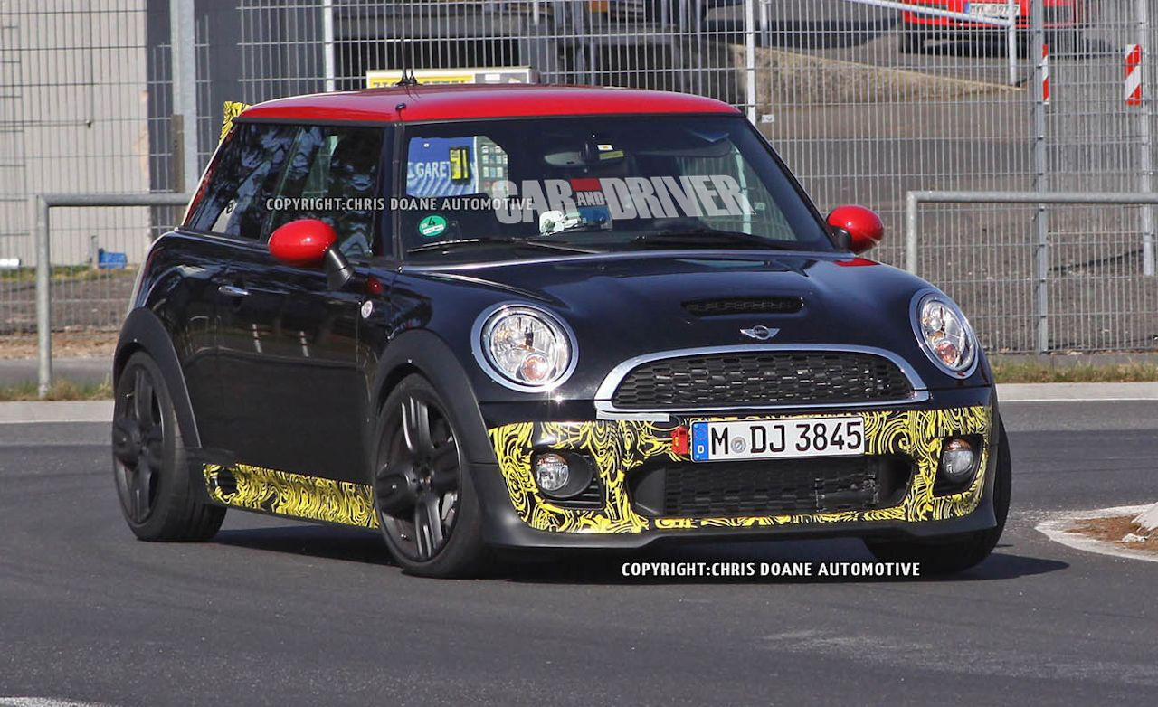 2013 Mini John Cooper Works GP II Hatchback Spy Photos