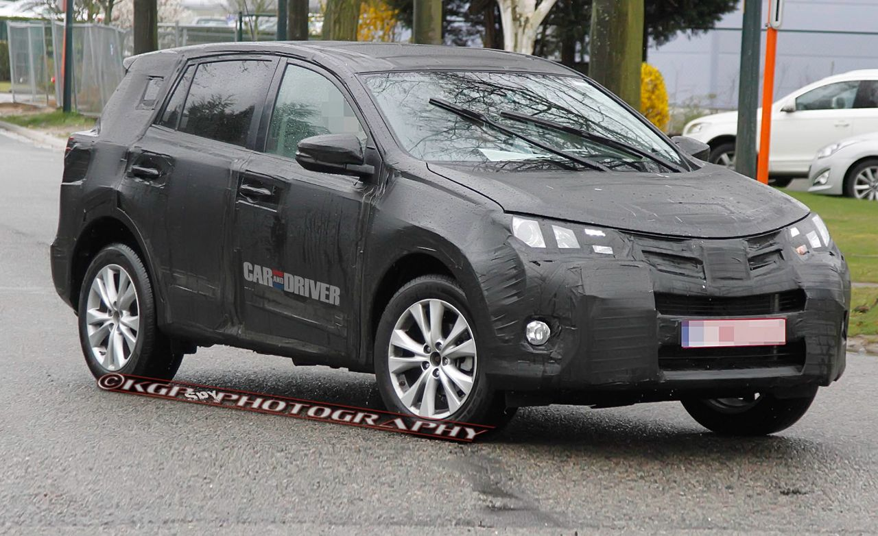 2013 Toyota RAV4 Spy Photos
