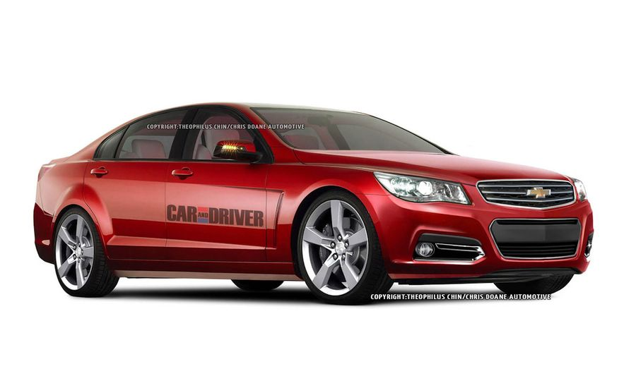 2014 Chevrolet SS Spy Photos and Renderings