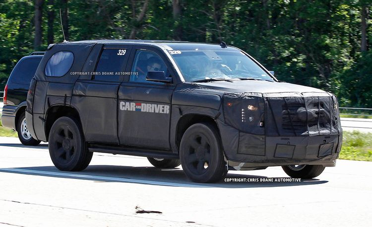 2014 Chevrolet Tahoe / GMC Yukon Spy Photos