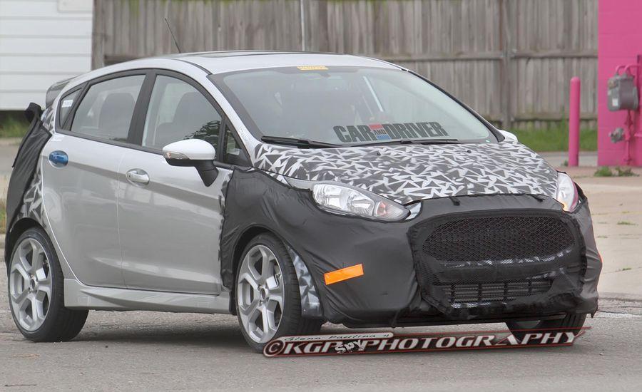 2014 Ford Fiesta ST Five-Door Spy Photos