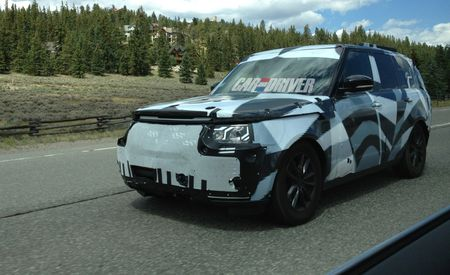 2014 Land Rover Range Rover Spied Again