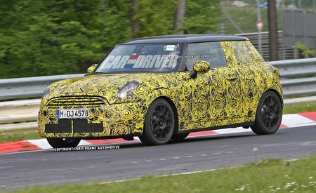 2014 Mini Cooper Spy Photos