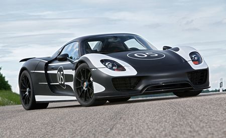 2014 Porsche 918 Spy Photos