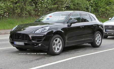 2014 Porsche Macan Spy Photos