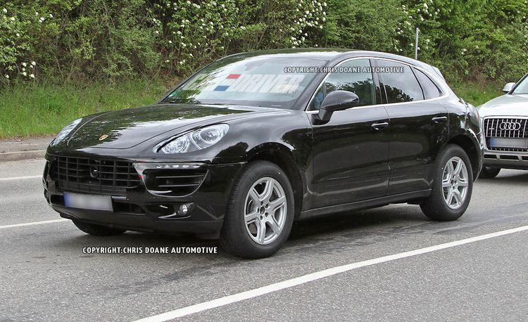 2014 Porsche Macan Spy Photos