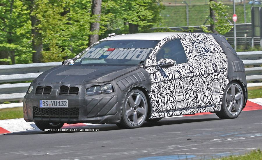 2014 Volkswagen Golf GTI 4-Door Spy Photos