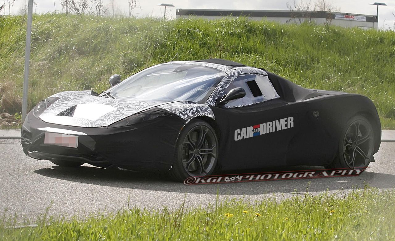 2015 McLaren F1 Replacement Spy Photos