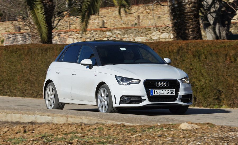 2012 Audi A1 Sportback First Drive Review Car And Driver