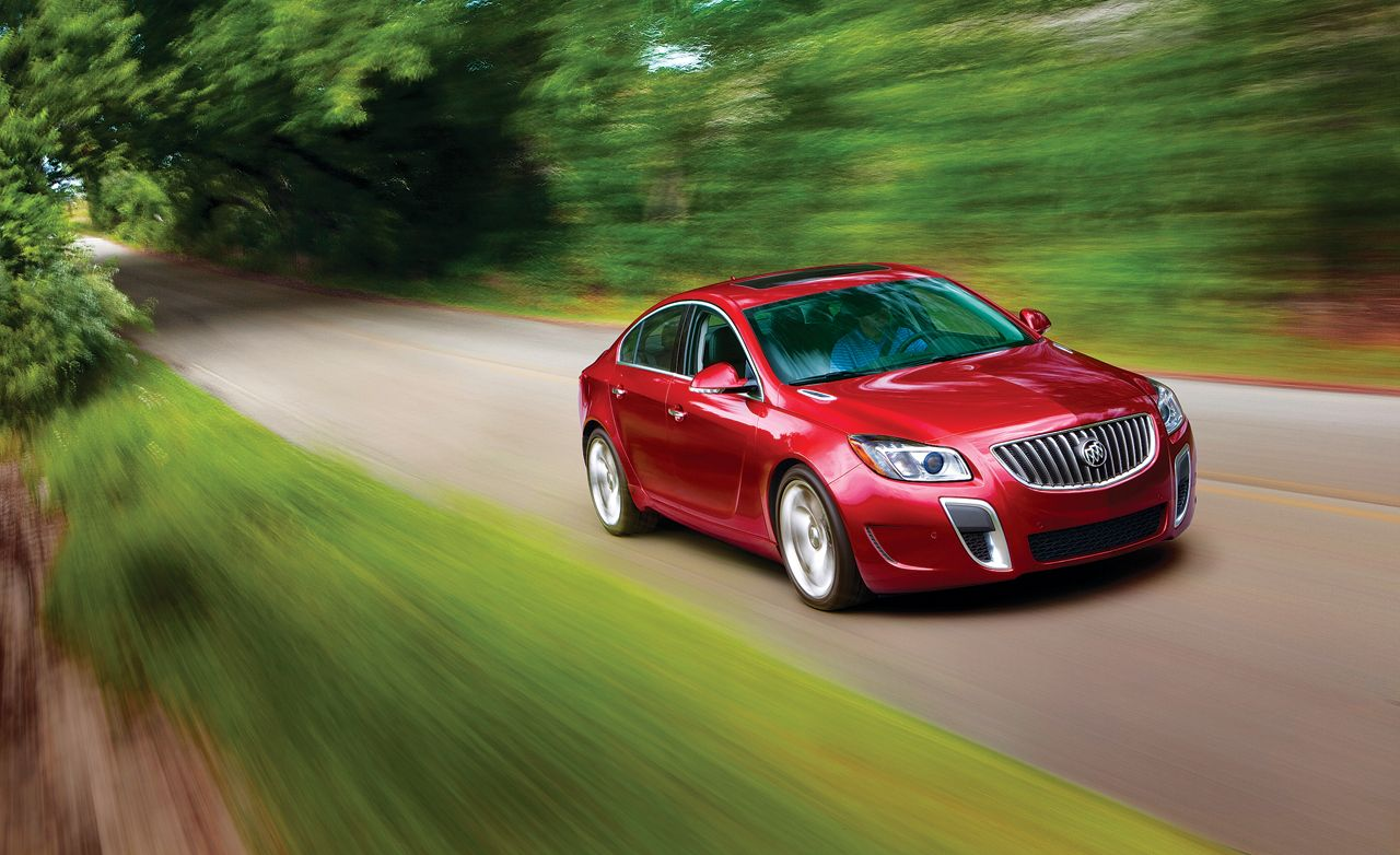 2012 Buick Regal GS Automatic