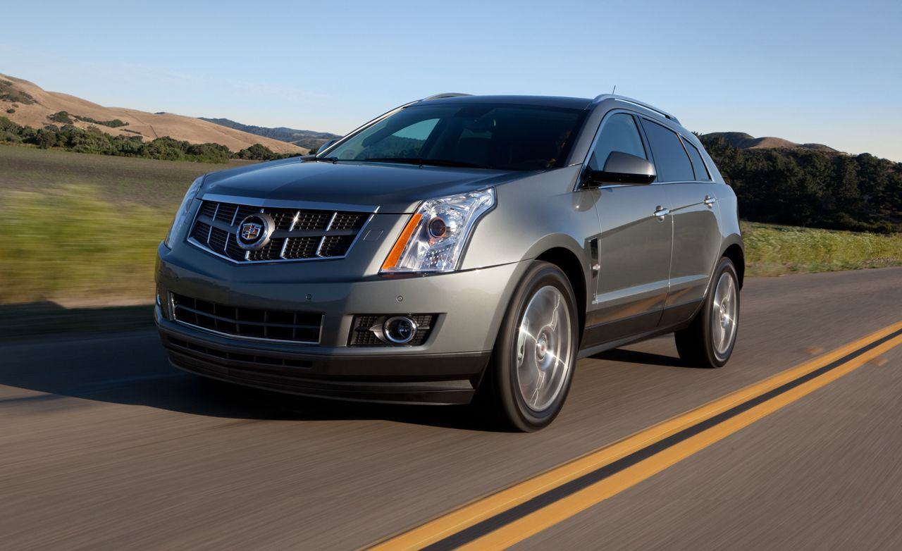 2012 Cadillac Srx 3 6 Awd Test Review Car And Driver