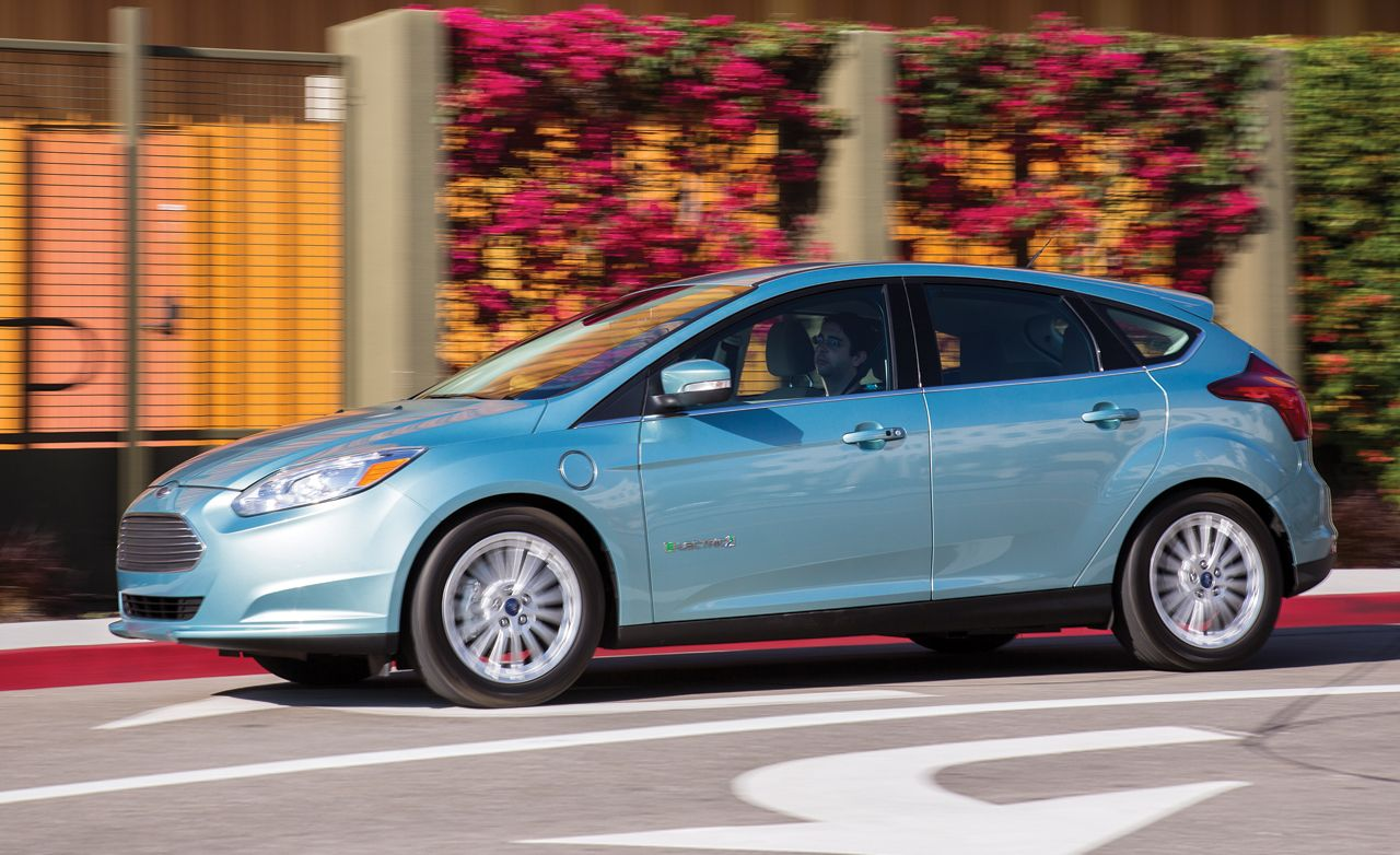 2012 ford focus electric instrumented test review car and driver