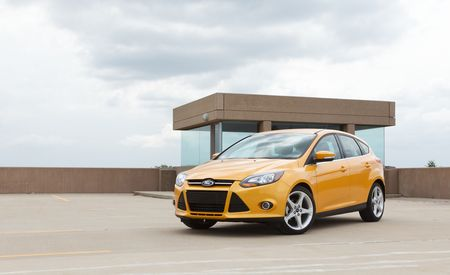 2012 Ford Focus Titanium Hatchback Manual