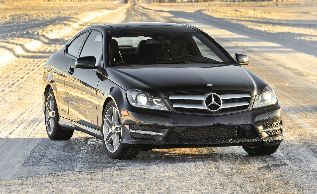 2012 mercedes-benz c350 4matic coupe instrumented test – review