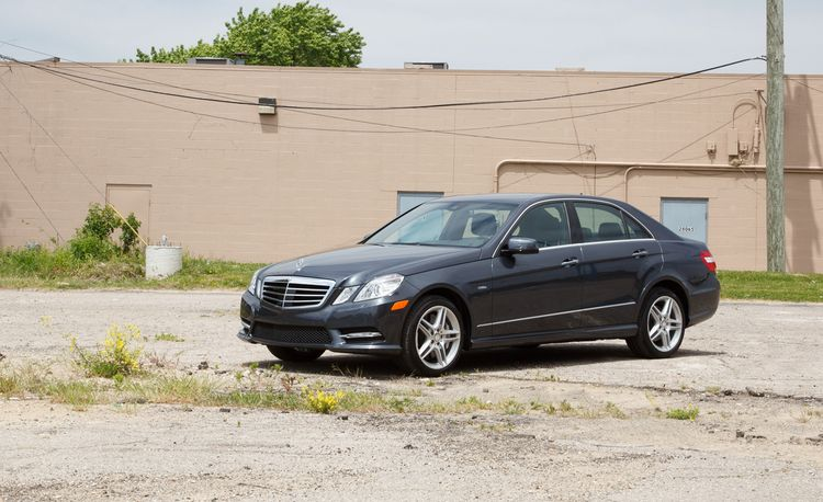2012 Mercedes-Benz E550 4MATIC Sedan