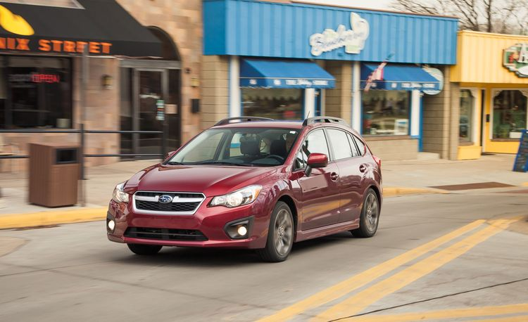 2012 Subaru Impreza 2.0i Sport Premium Hatchback Manual