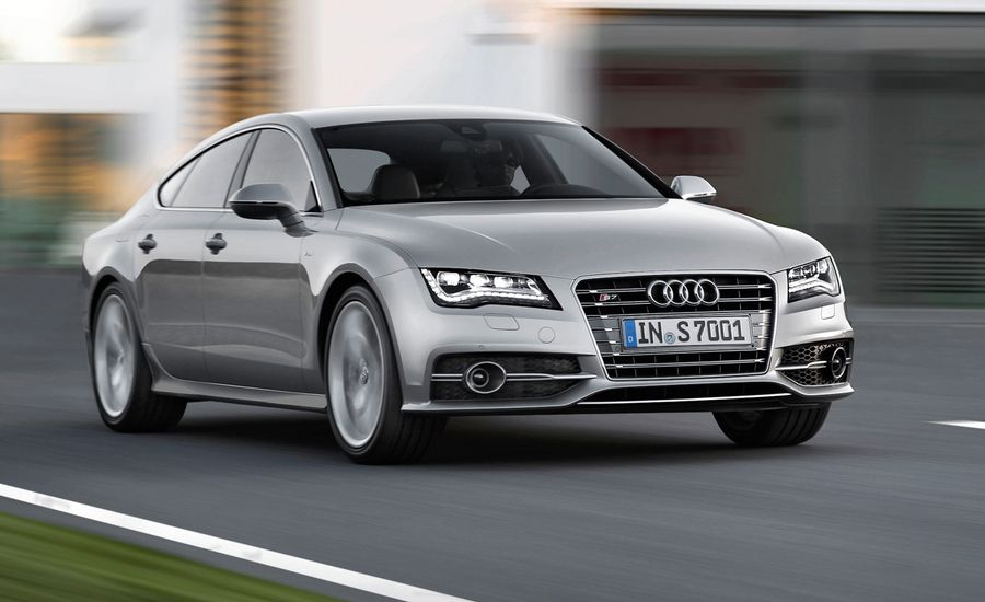 2013 audi s7 first drive review car and driver. Black Bedroom Furniture Sets. Home Design Ideas