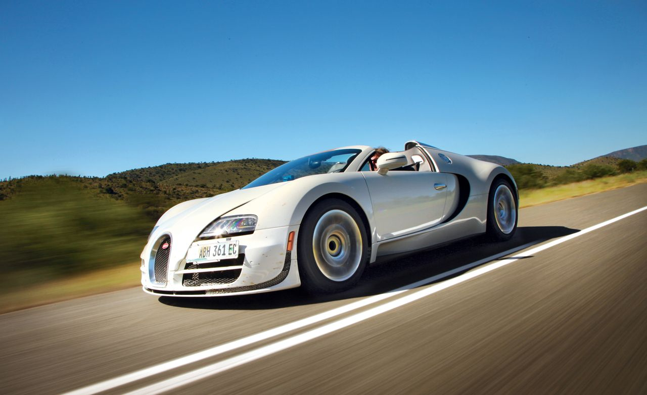 bugatti veyron reviews bugatti veyron price photos and specs car and driver. Black Bedroom Furniture Sets. Home Design Ideas