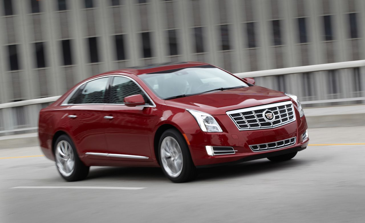 2013 Cadillac Xts First Drive Review Car And Driver
