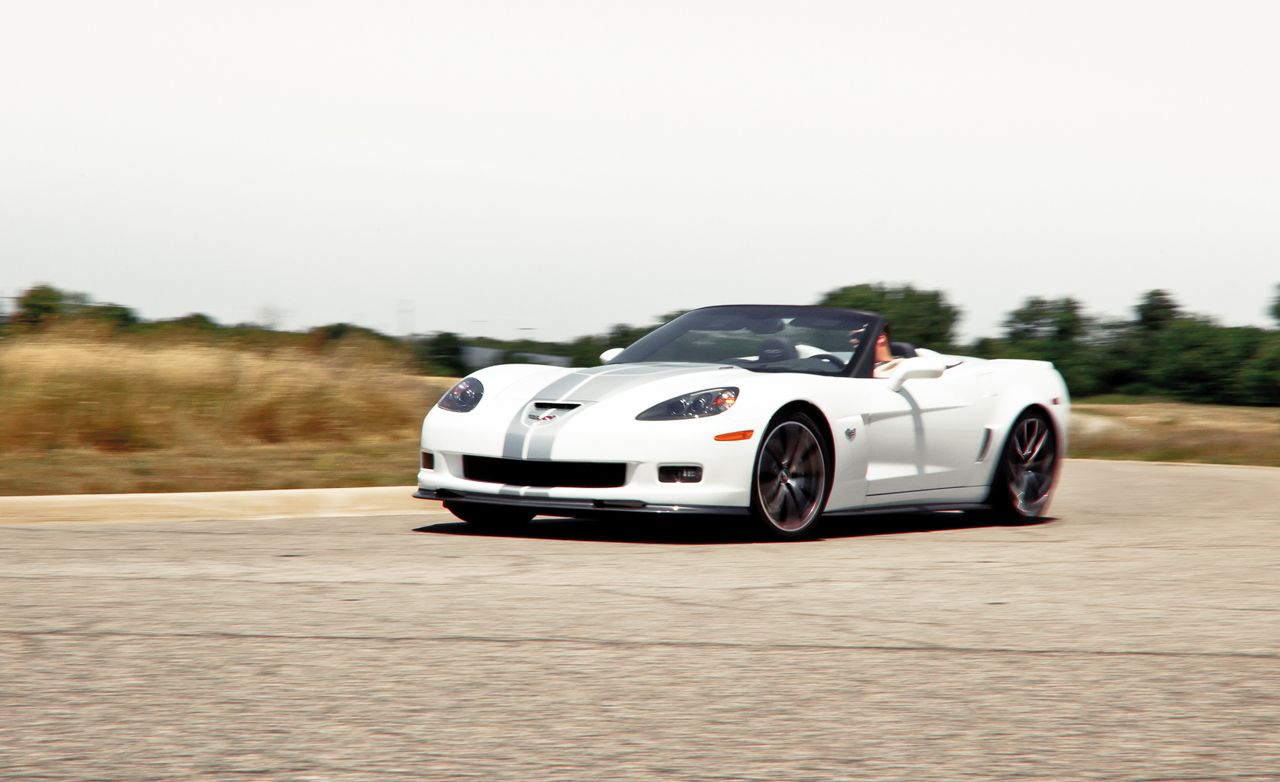 Used Lexus Convertible >> 2013 Chevrolet Corvette 427 Convertible Instrumented Test ...