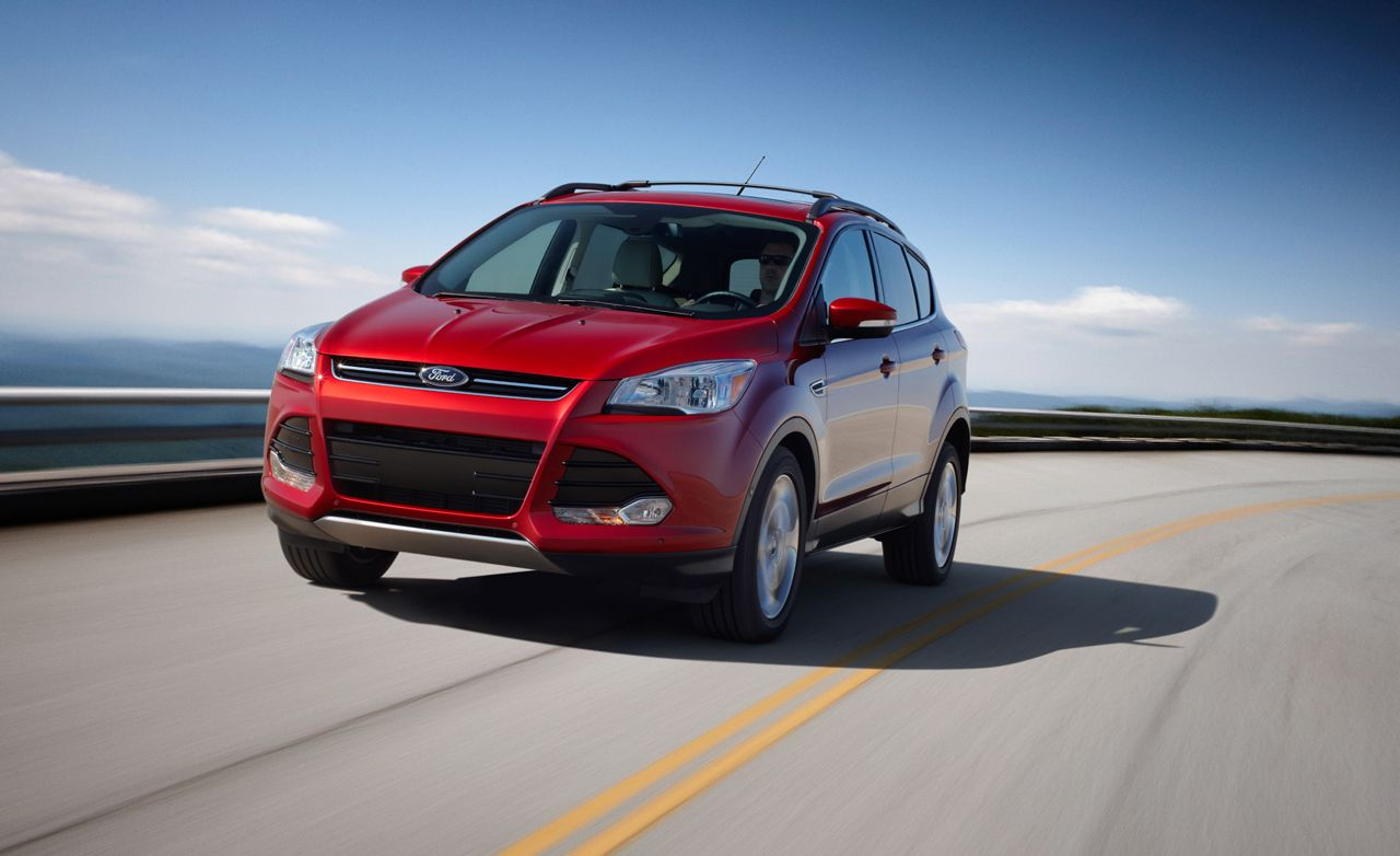 2013 ford escape ecoboost first drive review car and driver