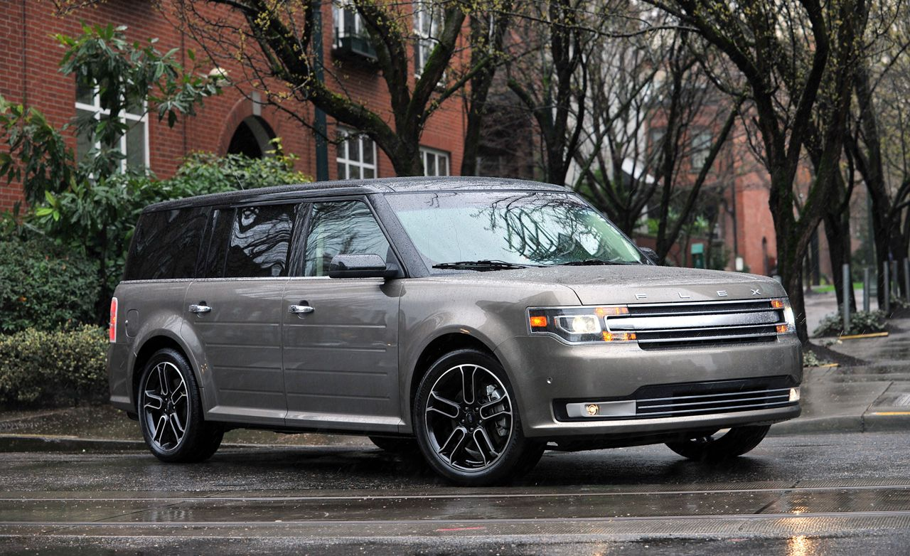 2013 ford flex limited awd ecoboost test review car and driver