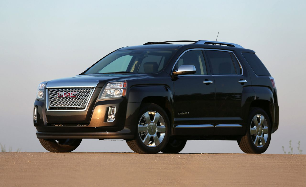 2013 gmc terrain denali 3 6 v6 first drive review car and driver. Black Bedroom Furniture Sets. Home Design Ideas
