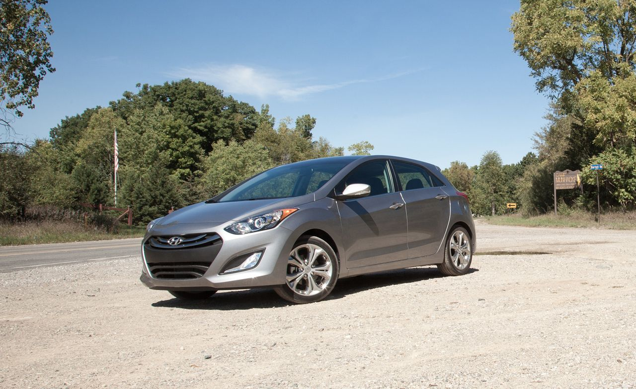 2013 Hyundai Elantra Gt Manual Test Review Car And Driver