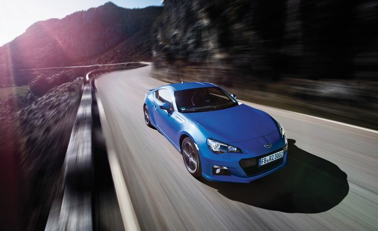 2013 Subaru BRZ Limited vs. Route Napoléon