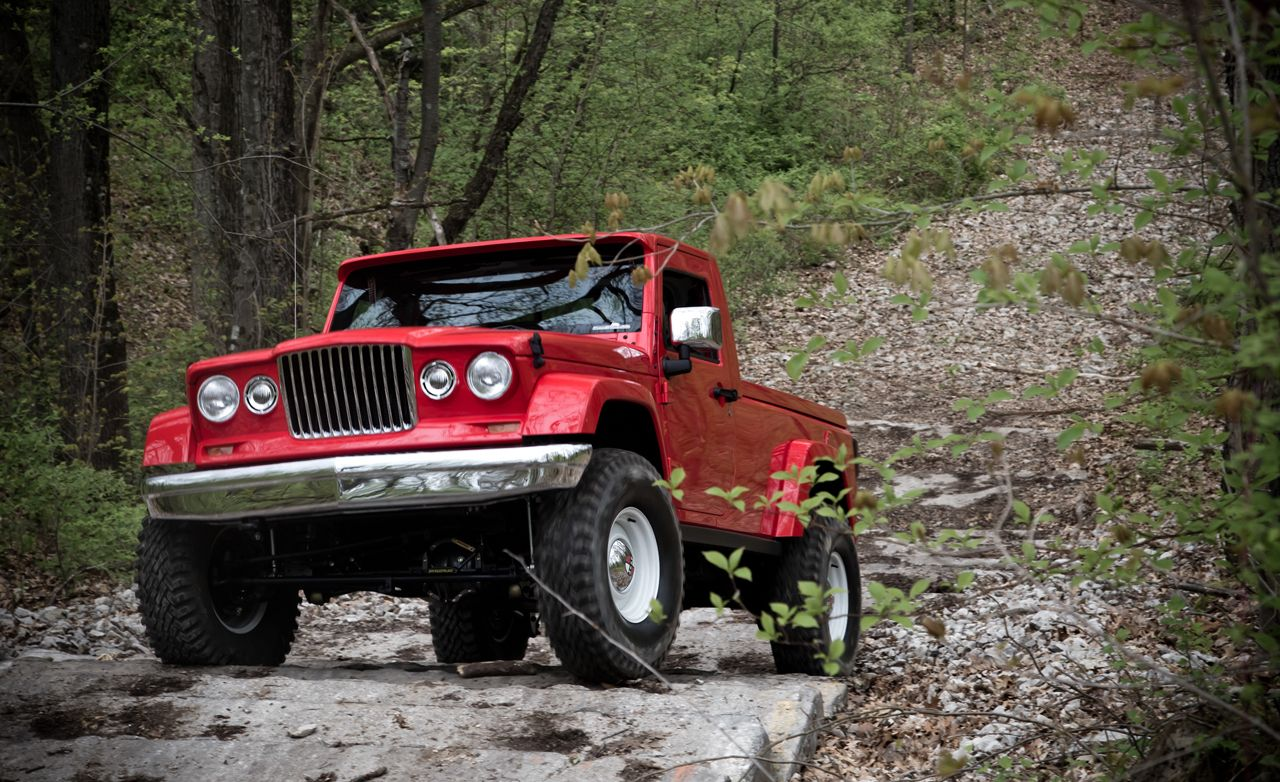 Jeep J-12 Concept Prototype Drive | Review | Car and Driver
