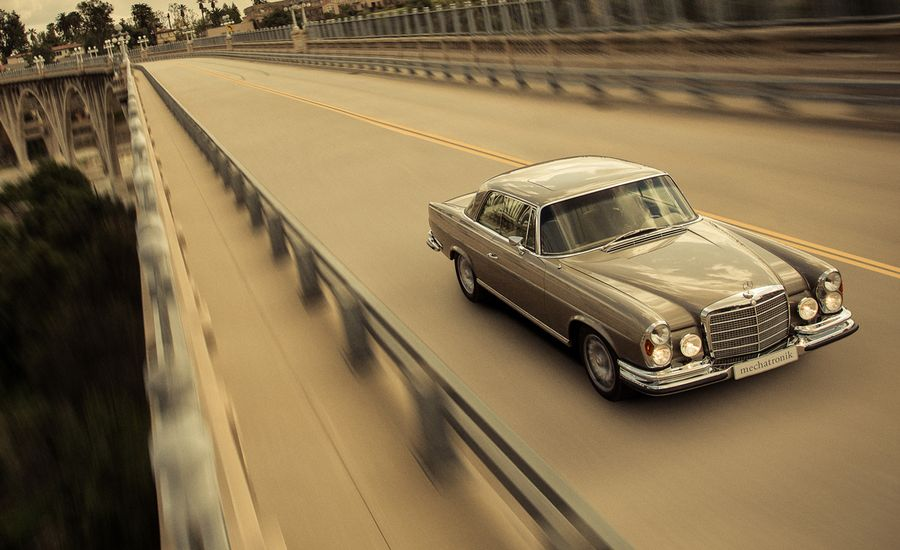 Mechatronik Mercedes-Benz M-Coupé: 1970 280SE 3.5 Meets Modern ...