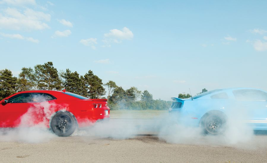 2012 Chevrolet Camaro ZL1 vs. 2013 Ford Mustang Shelby GT500
