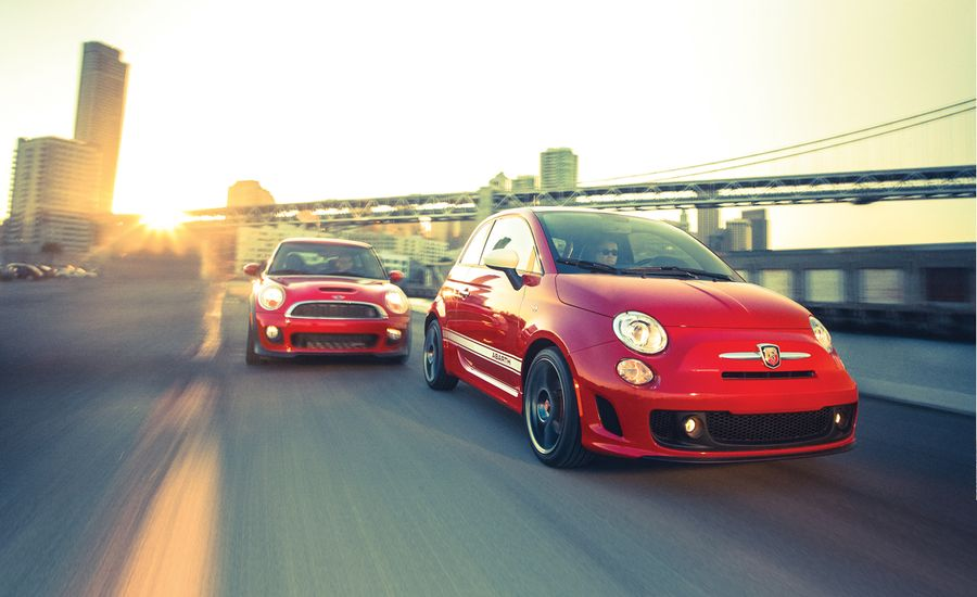 2012 Fiat 500 Abarth vs. Mini John Cooper Works