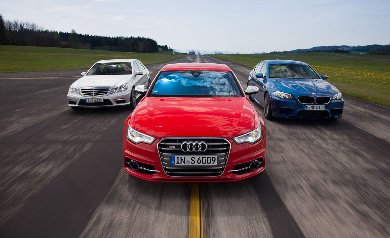 2013 Audi S6 Vs. 2013 BMW M5, 2012 Mercedes Benz E63 AMG