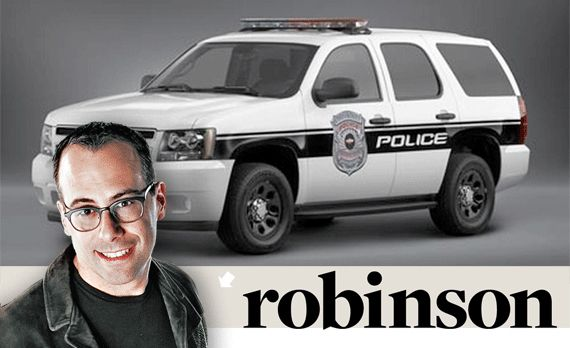 Aaron Robinson: The Law is the Law, Unless You're the Law