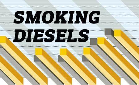 Smoking Diesels: Hey, Look, We Charted U.S.-Market Diesel Take Rates, Prices, MPG, and More